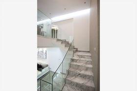 5-10万130平米复式现代简约风格楼梯欣赏图