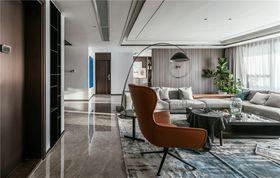120平米三室兩廳現代簡約風格客廳裝修圖片大全