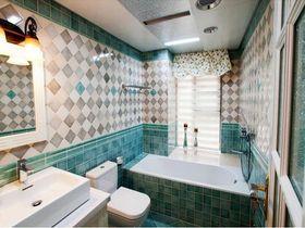 经济型120平米三室两厅田园风格卫生间装修图片大全
