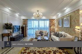 富裕型140平米三室两厅欧式风格客厅设计图