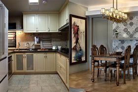 5-10万90平米混搭风格厨房图