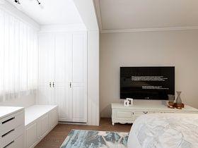 110平米三室两厅欧式风格卧室设计图