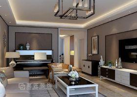10-15万120平米三室一厅中式风格餐厅装修图片大全