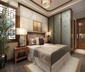 豪华型130平米四室两厅中式风格卧室图片大全
