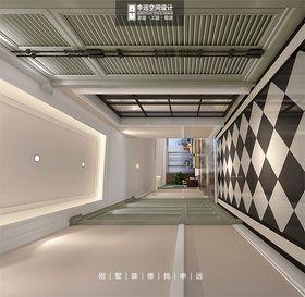豪华型140平米别墅美式风格走廊图片
