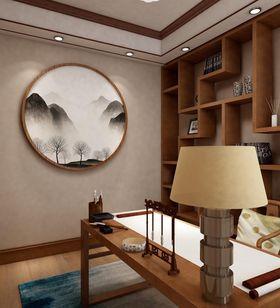 15-20万130平米三室两厅中式风格书房设计图