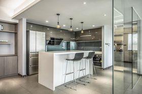 120平米四室两厅现代简约风格厨房装修效果图