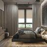 100平米现代简约风格卧室欣赏图