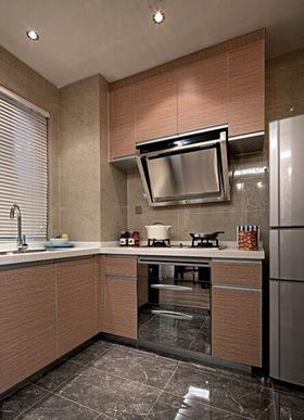 5-10万130平米三室两厅混搭风格厨房欣赏图