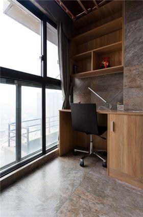 富裕型140平米三室两厅现代简约风格阳台图片大全