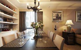 10-15万120平米三室三厅现代简约风格餐厅设计图