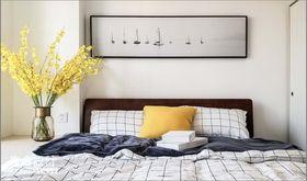 50平米北欧风格卧室图片