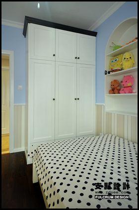 90平米美式风格卧室欣赏图