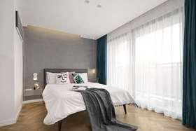 110平米现代简约风格卧室图片