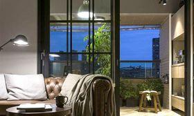 经济型80平米三室两厅混搭风格客厅装修图片大全