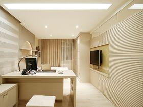 140平米四室两厅现代简约风格书房图片