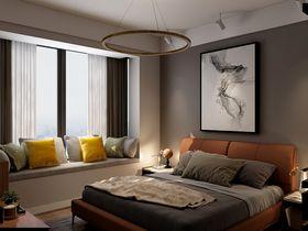 90平米现代简约风格卧室欣赏图