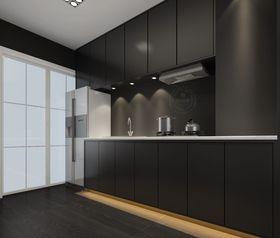 5-10万60平米一居室混搭风格厨房设计图