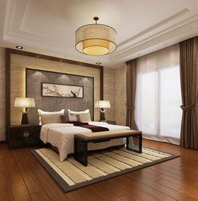 20万以上140平米复式中式风格卧室图