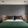 140平米现代简约风格卧室图片大全