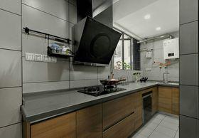 80平米三北欧风格厨房欣赏图