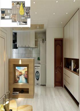 80平米三室一厅现代简约风格客厅装修图片大全