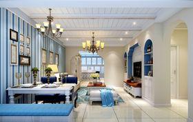 140平米地中海风格客厅装修案例