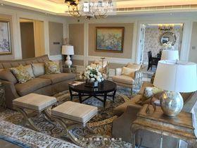 140平米別墅美式風格客廳沙發圖