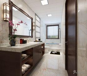 富裕型130平米四室两厅中式风格卫生间图片