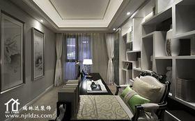5-10万130平米三室两厅法式风格书房图片