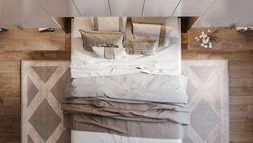 100平米三室兩廳現代簡約風格臥室裝修圖片大全