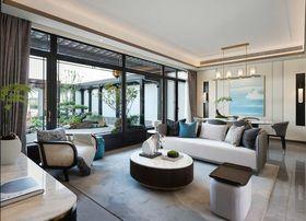 140平米復式中式風格客廳欣賞圖