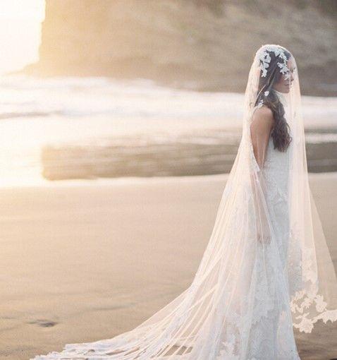 新娘面纱要多长打造新娘面纱造型的技巧