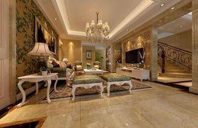 140平米四欧式风格客厅装修效果图