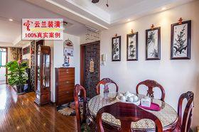富裕型90平米中式风格餐厅图片大全