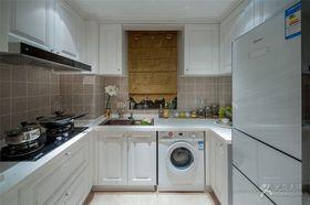 5-10万120平米三室两厅法式风格厨房图片大全