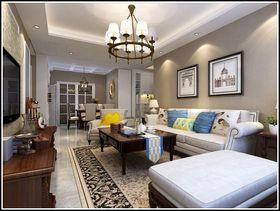 100平米三室两厅北欧风格客厅装修效果图
