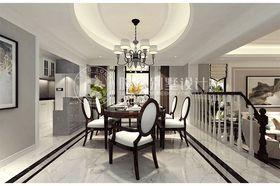 140平米別墅混搭風格餐廳吊頂圖片