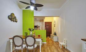 经济型80平米三室两厅混搭风格餐厅图片
