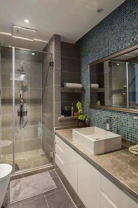 5-10万110平米三室两厅现代简约风格卫生间装修案例