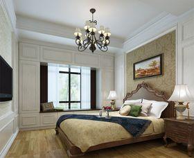 15-20万140平米三室两厅混搭风格卧室欣赏图