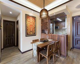 80平米东南亚风格餐厅图