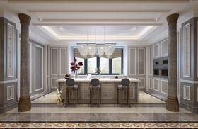 140平米別墅中式風格餐廳效果圖