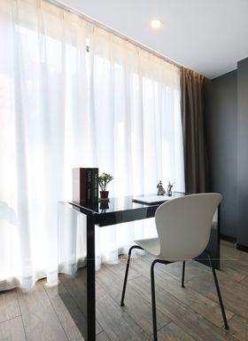 120平米三室一廳現代簡約風格書房欣賞圖