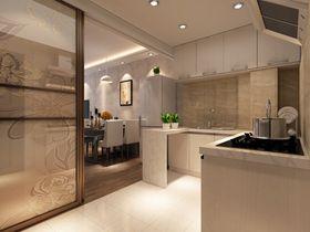 80平米宜家风格厨房设计图