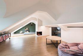 140平米别墅混搭风格阁楼装修效果图
