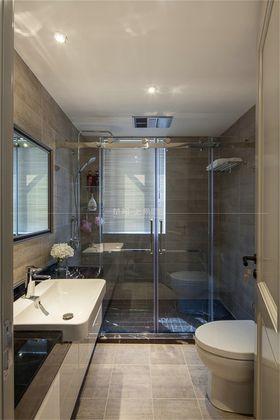 120平米三室一厅混搭风格卫生间效果图