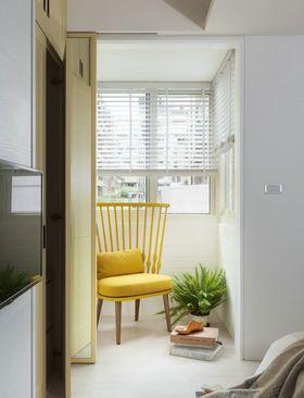 110平米四室两厅现代简约风格阳台图片大全