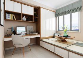 140平米三室一厅混搭风格书房装修案例