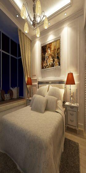 经济型80平米欧式风格卧室设计图